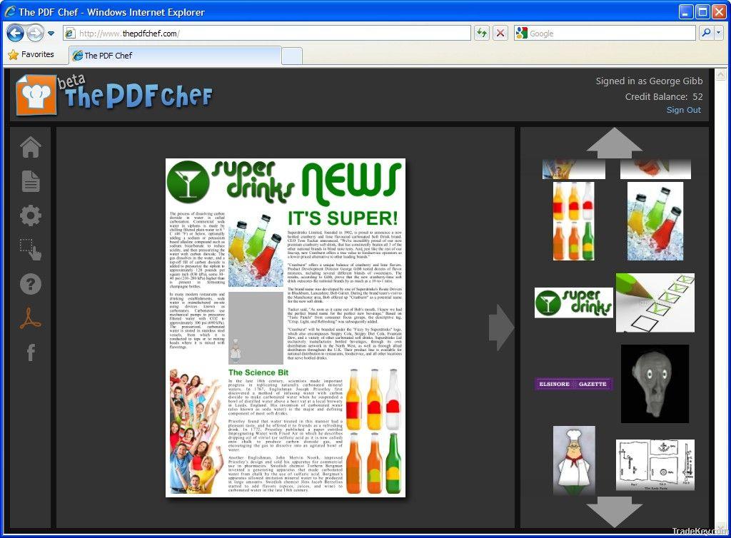 The PDF Chef
