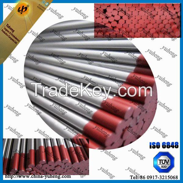 WT20 red Tungsten/Wolfram electrode for TIG welding