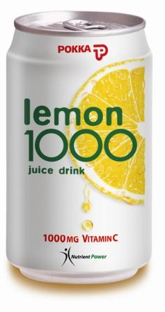 Pokka Lemon-1000 vitamin C Drink