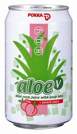 Pokka AloeV Fruit Drink