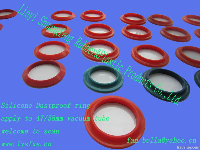 silicone dust proof ring (solar water heater parts)