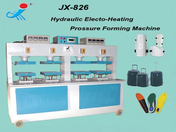 Hydraulic Movable Shoe Pad (EVA) Pressure Forming Machine