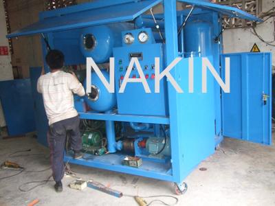 Vacuum Insulation Oil Treatment Machine
