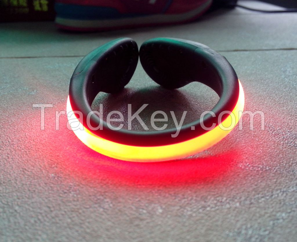 2015 fashion LED lighting shoes clip for runners night safety or party