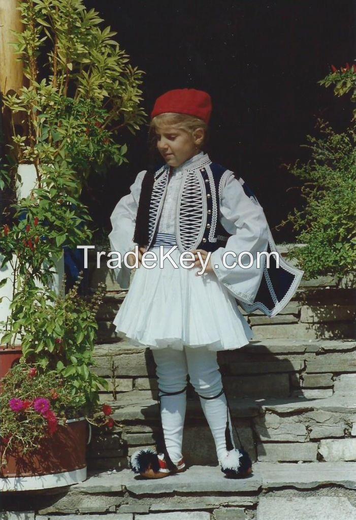 Greek traditional costume Tsolias