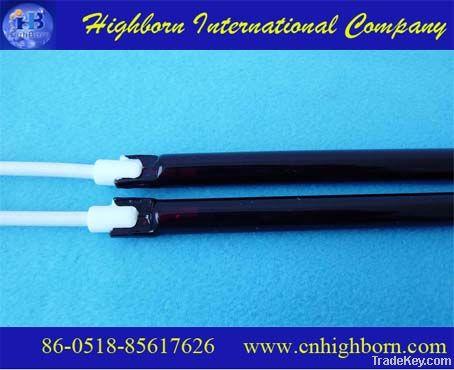 Carbon fiber quartz heating elements