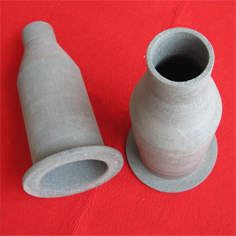 heat resistance recrystallized silicon carbide ceramic nozzle