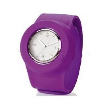 fashion silicone waterproof slap watch