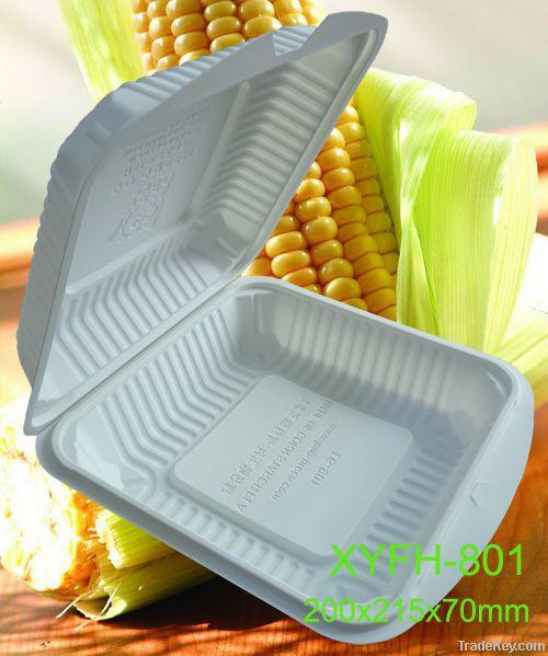 Biodegradeble  Disposable Environmental Cornstarch  Lunch Box