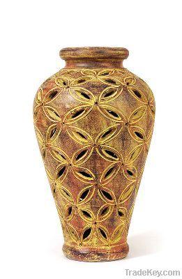 Decorative Clay Vases
