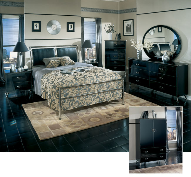 Neo-Classical Bedroom Sets