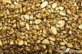 Gold Nuggets / Gold Bars / Au Gold Bars