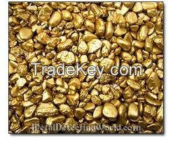 GOLD NUGGETS 98% +/-1, 23 carats