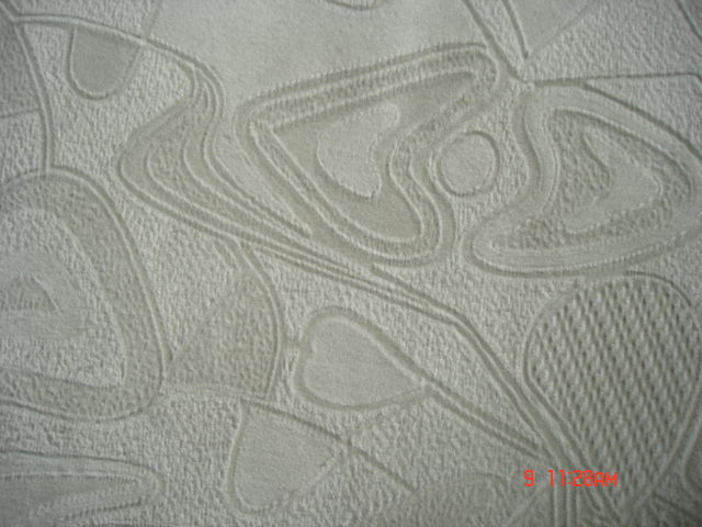Spray Pattern Flocked Sofa And Furniture Fabric