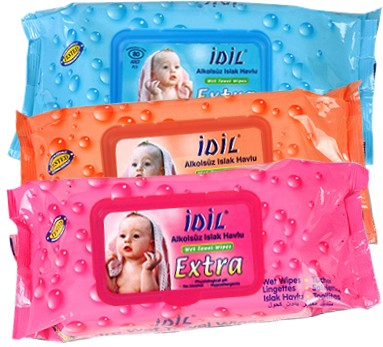 Idil Wet Towel Wipes