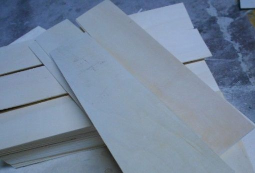 Veneer Slats- specialize cut to size  best quality by prime fortune