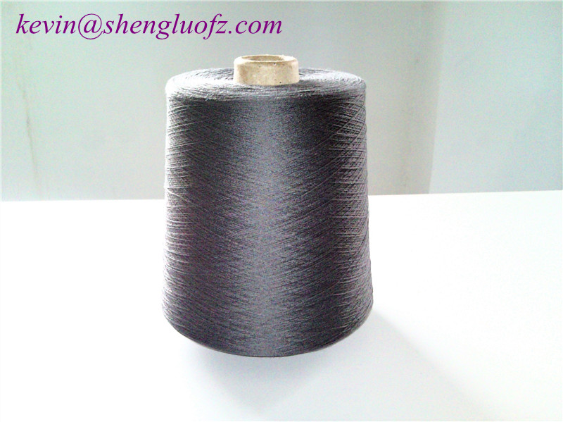 Mercerized cotton yarn for knitting