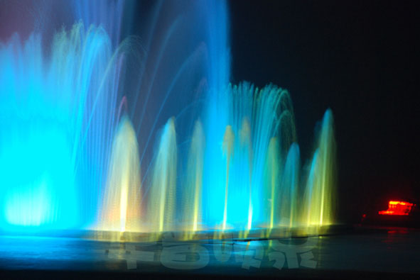 musical fountain project