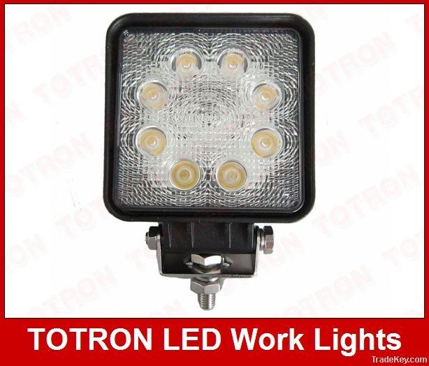 9-32V DC 24w Led Working LightS, LED work light