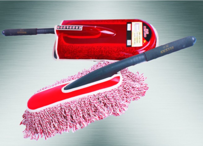 Microfiber chenille car cleaning 180 angle turn, can be stretch