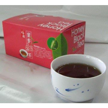 Orgainic Honey black tea unique taste is by cicada