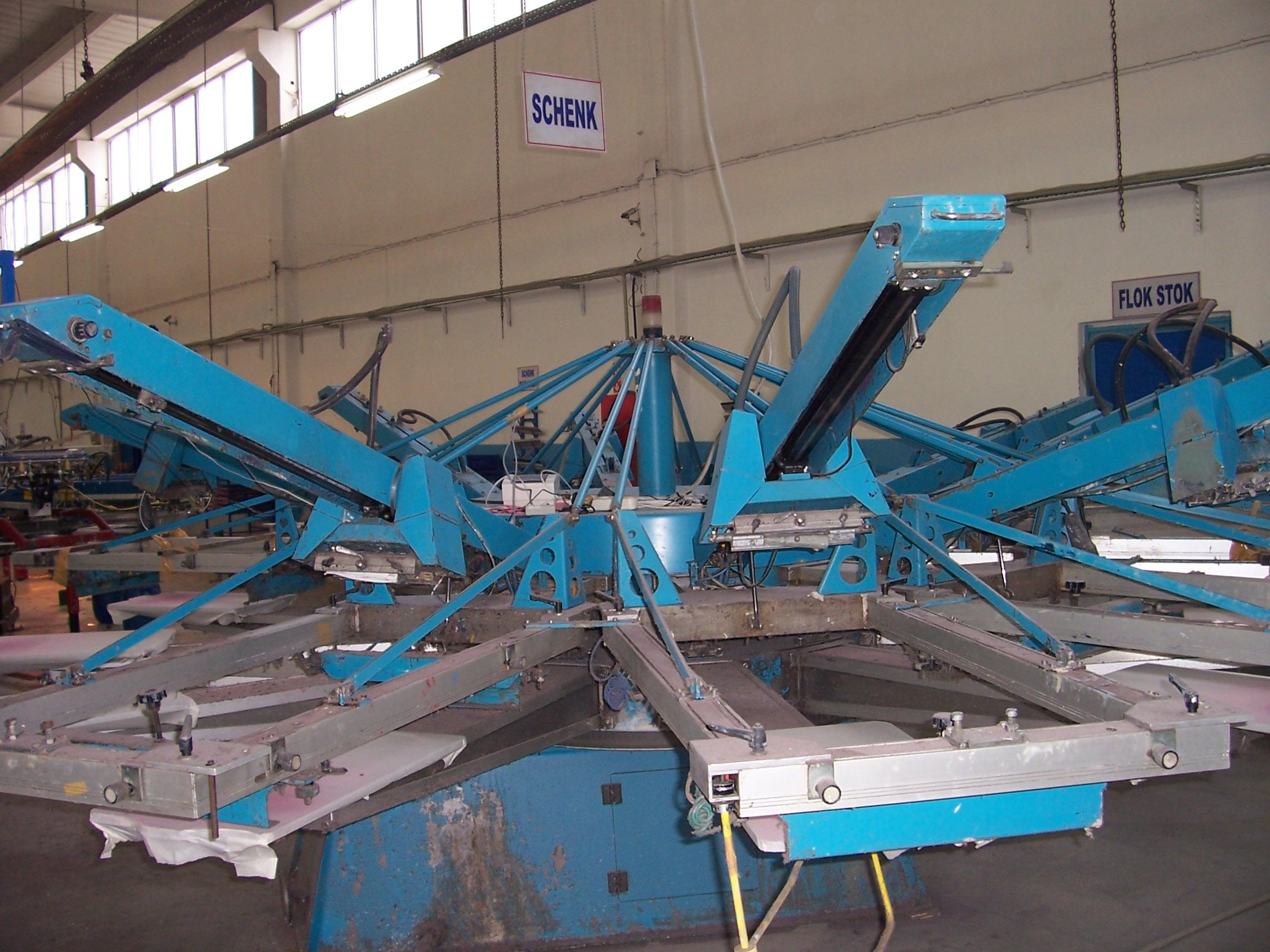 Schenk Variprint Screen Printing Machine