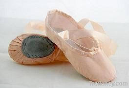 Satin split sole ballet shoe/dance shoe