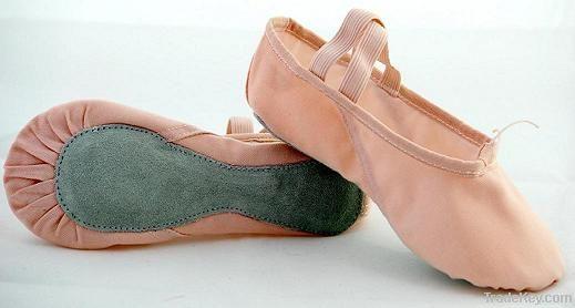 Pink Satin split sole ballet shoe/dance shoe
