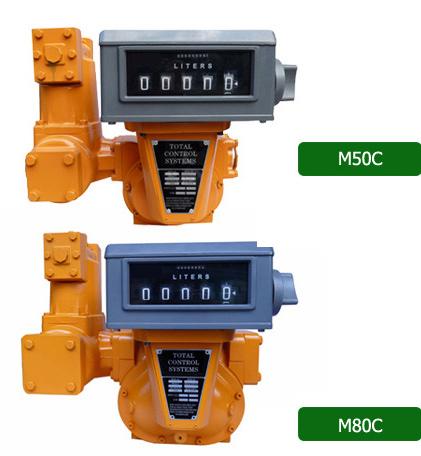 M50C/ M80C Series Positive Displacement Flow Meter