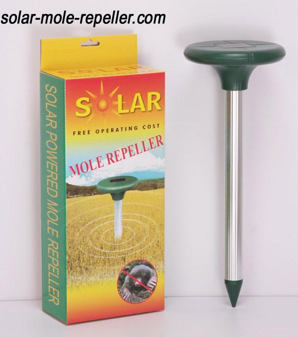 Solar Powered Mole Repeller