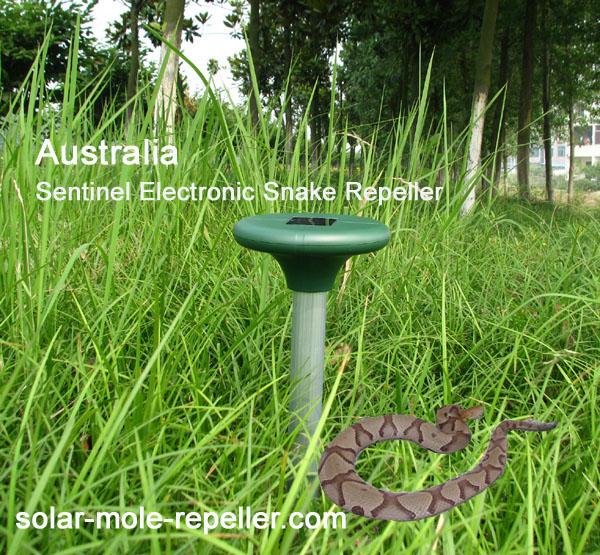 Solar Electronic Snake Repeller