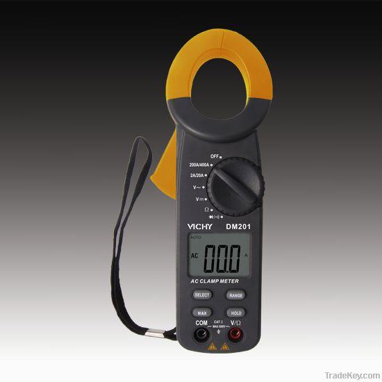 3 1/2 bit digital clamp multimeter DM201
