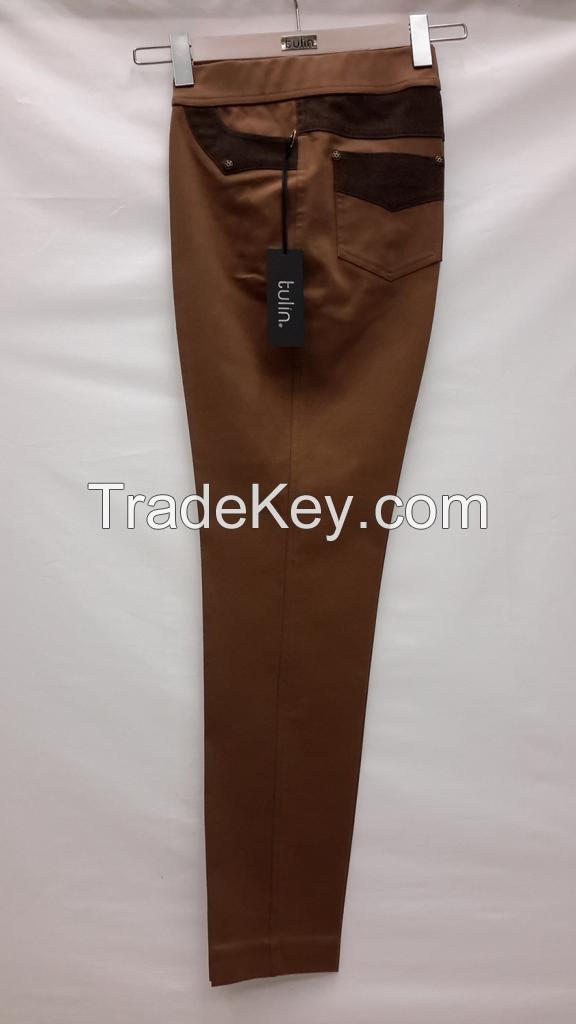 High Quality Fashion Plus Size Canvas Pants for Women