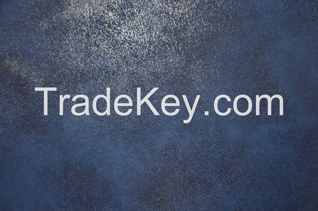 suedu material, Jumbuck Leather plating effect