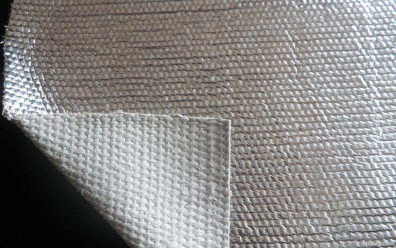 fireproof asbestos cloth with aluminum foil