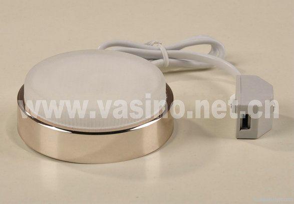 GX53 base CFL LED light, under cabinet lamps, 110/220v AC, 2700-6500k.