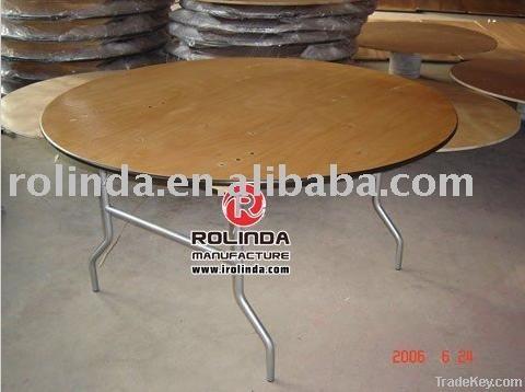 Plywood Folding Table