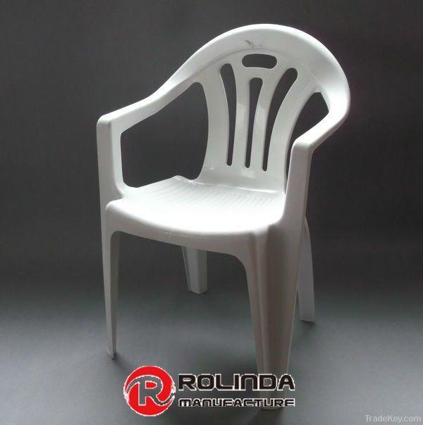 White Plastic Chair