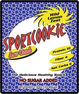 Wild Lemon Zest Sport Cookie
