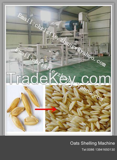Good quality-High efficiency oats peeler or peeling machine