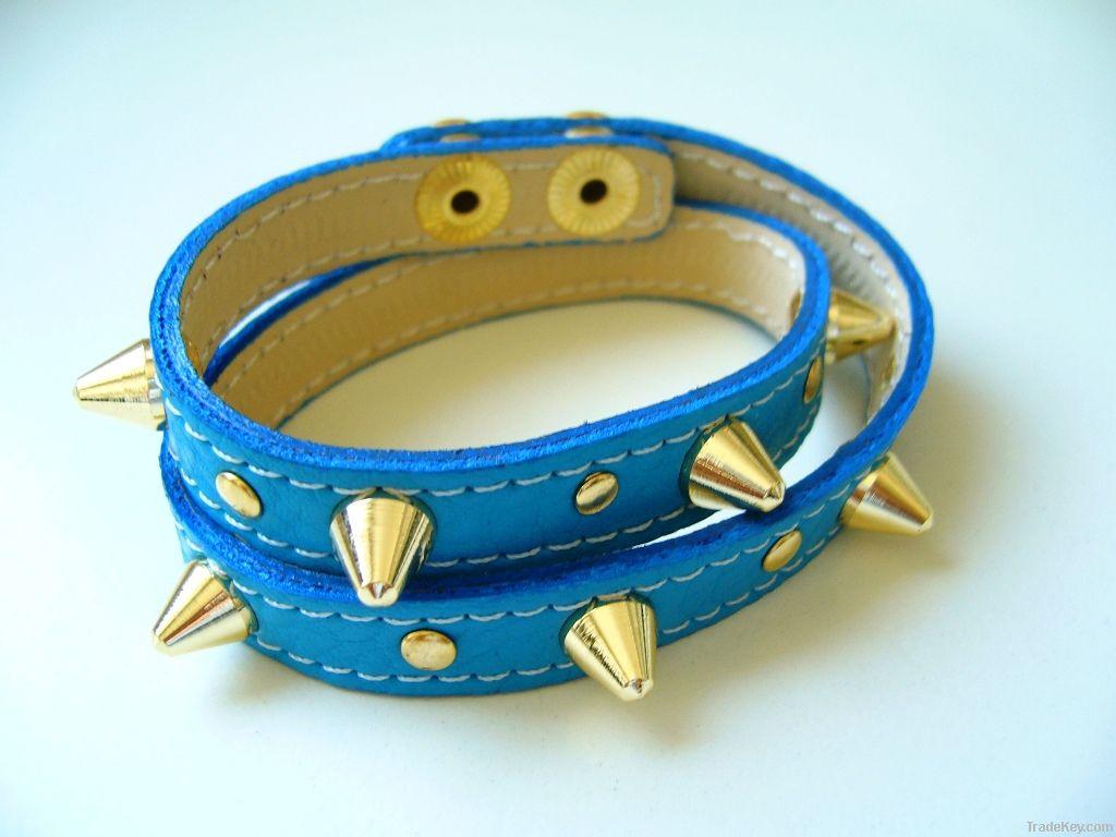 leather bracelet women