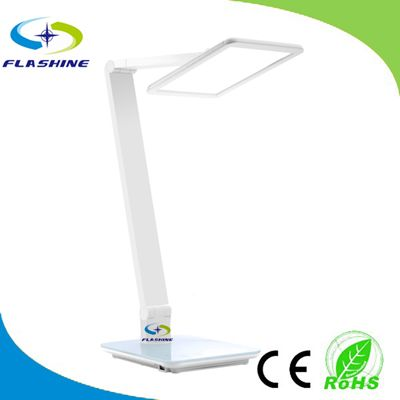 2014 New Launched Infinite Dimming Tempered Glass Touch Panel LED Table Light