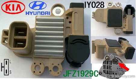 DC car alternator voltage regulator stabilizer auto parts JFZ1929C KIA
