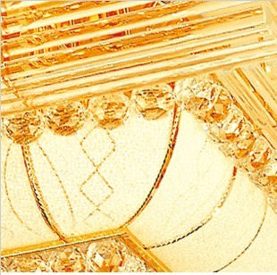 Rectangular Crystal Light, Crystal Lamp, Crystal Ceiling, Luxurious Crys