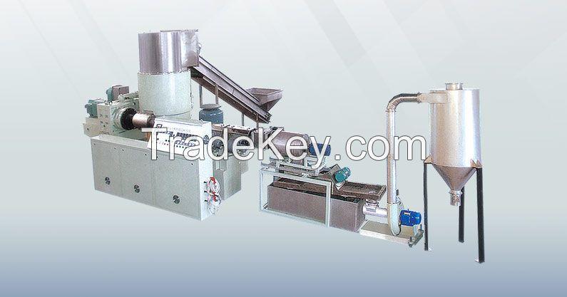 Plastic Extruding Granulator Machine