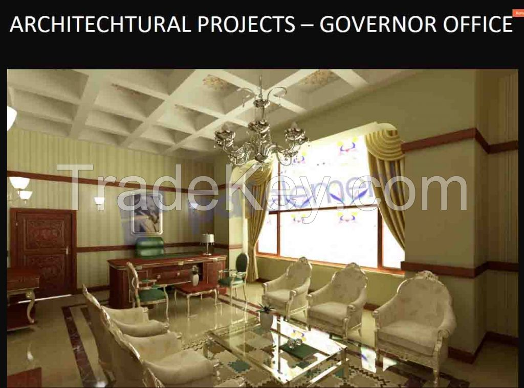 Furniture  Decoration  Hall  Bedroom  Kitchen  Bathroom  Office  cabinets  Restoraunt , Cafe , Architechtural  project  construction