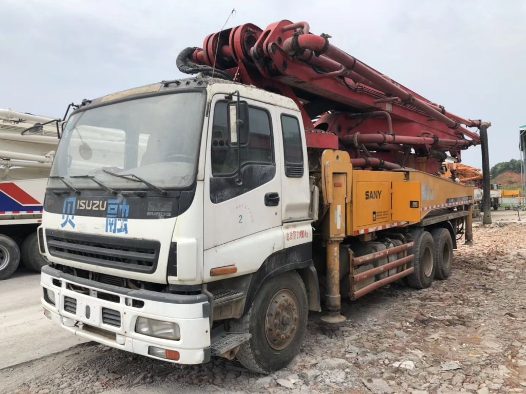 Used SANY  Concrete Pump Truck
