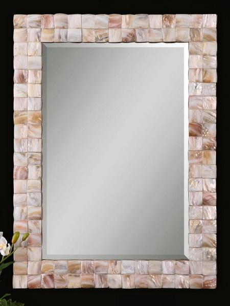 Shell Mosaic Mirror