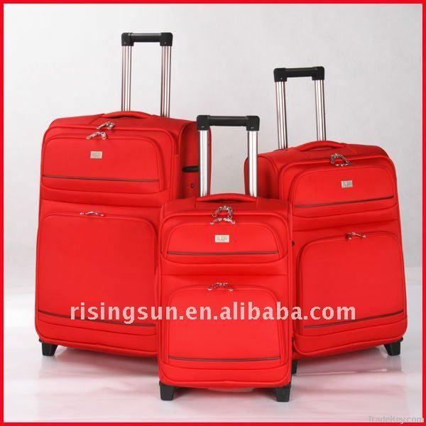 high quality polyester luggage set