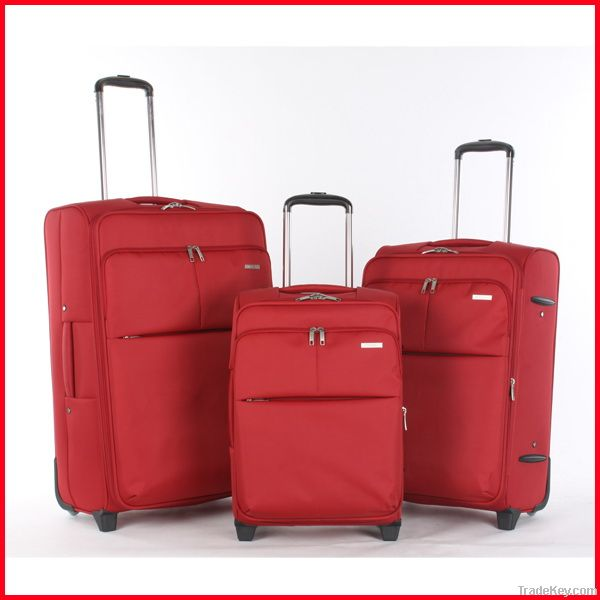 travel bag and trolley luggage